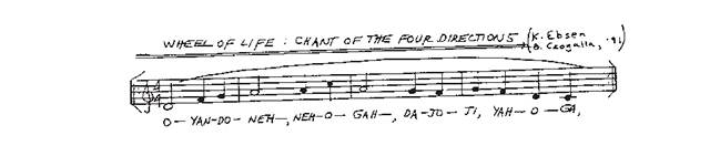 Wheel of Life; Chant of the Four Directions