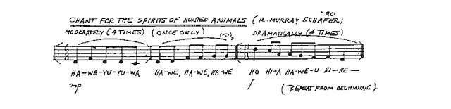 Chant for the Spirits of Hunted Animals
