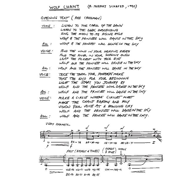 Wolf Chant