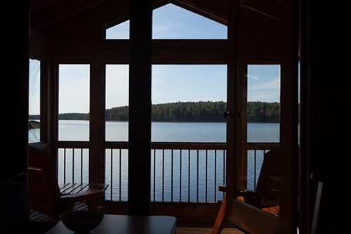 Write on the French River