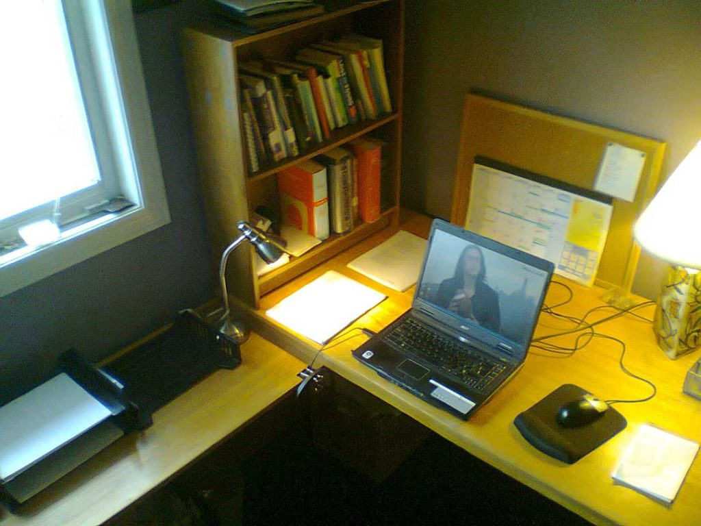 Peter Norman writing space