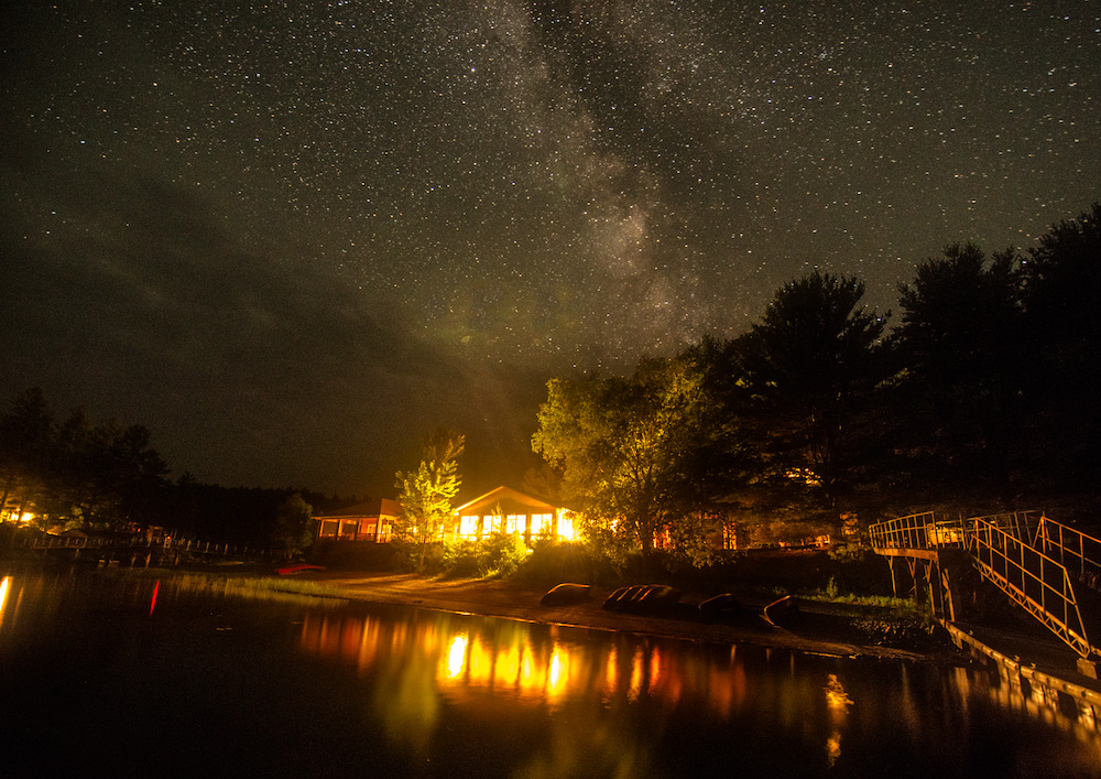 Pine Cove By Night. Photo by Rob Stimpson