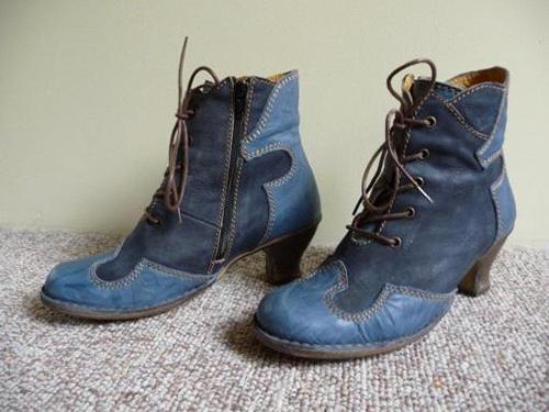Blue Boots Theresa Kishkan