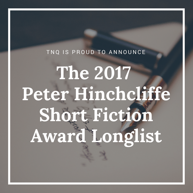 Peter Hinchcliffe Short Fiction Award longlist announcement