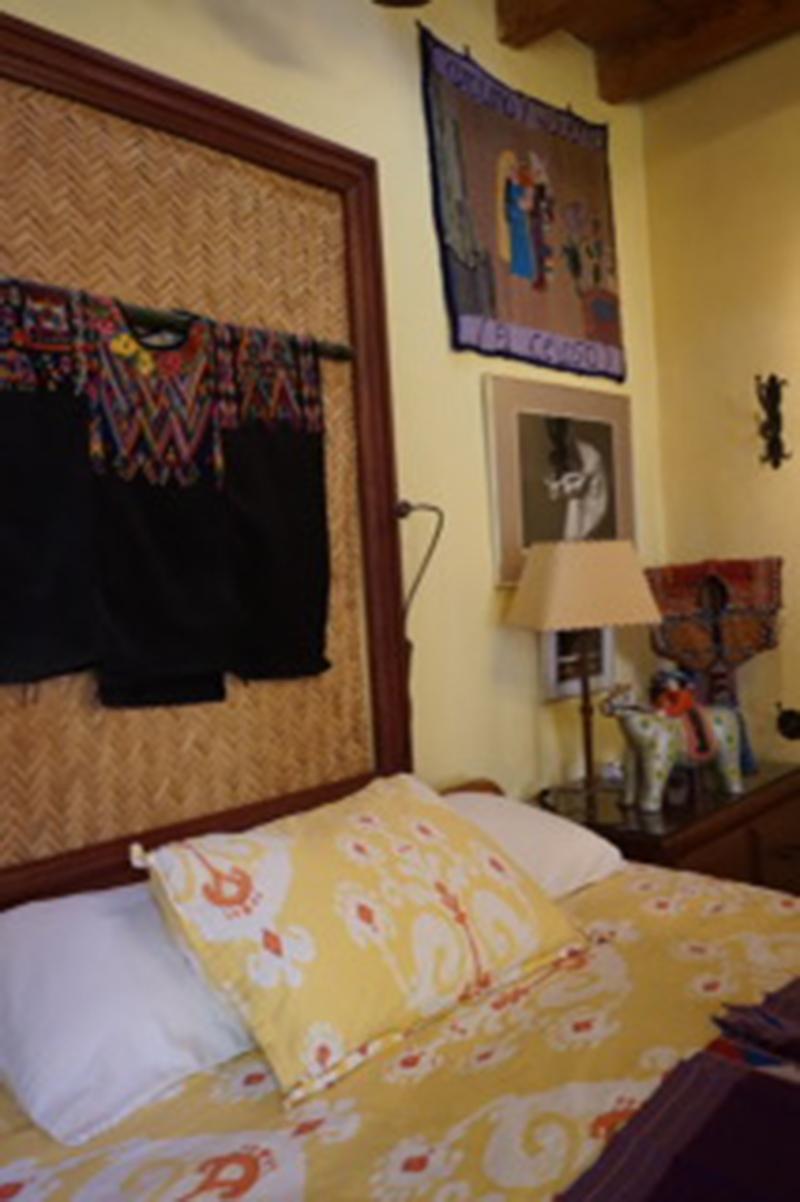 Wayne Yetman's bed in San Miguel