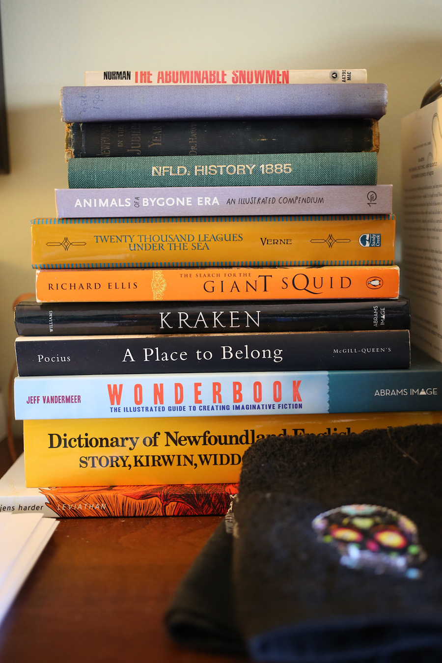 Stack of Books. Photo by J.R. McConvey