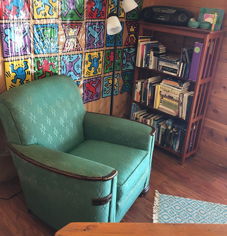 Marion Agnew's Indoor Office
