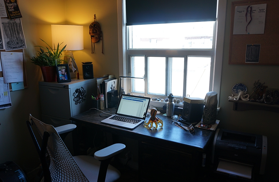 Office Writing Space. Photo by J.R. McConvey
