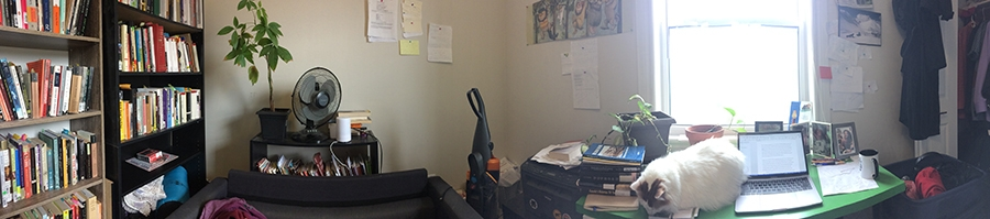 David Huebert Writing Space