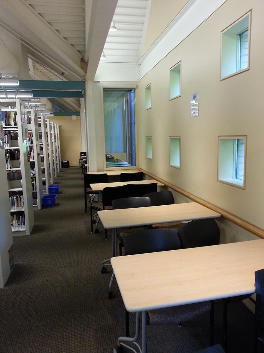 Tristan Marajh Writing Space: Toronto Public Library Markham Branch work area