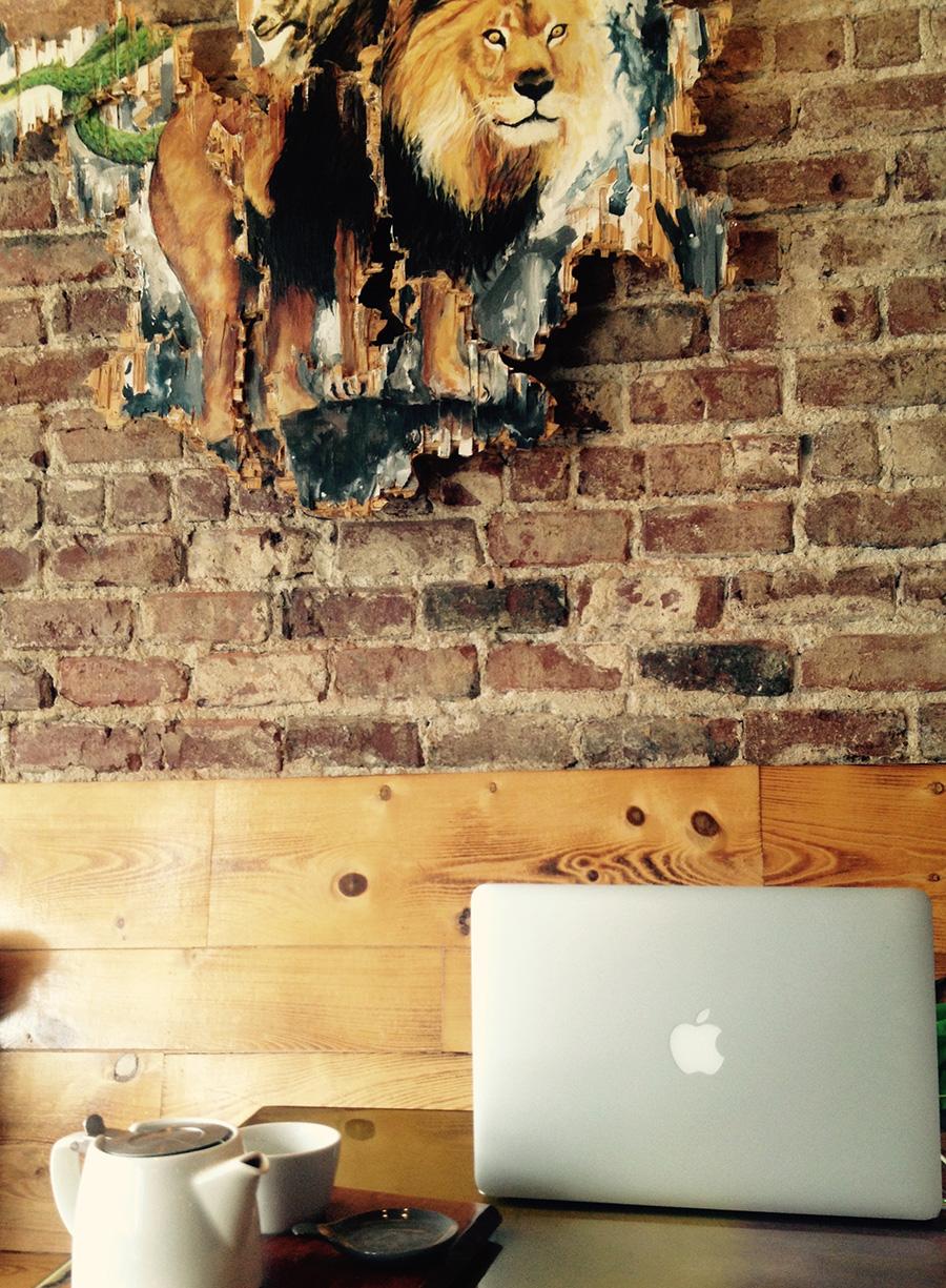 Evangeline Jones Writing Space: Chimera Cafe