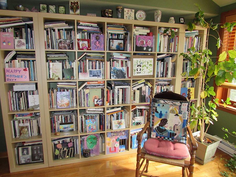 Stephanie Bolster Writing Space: Book Shelves