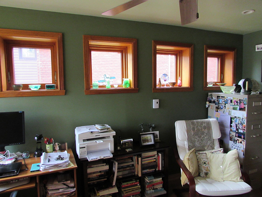 Stephanie Bolster Writing Space: Four windows