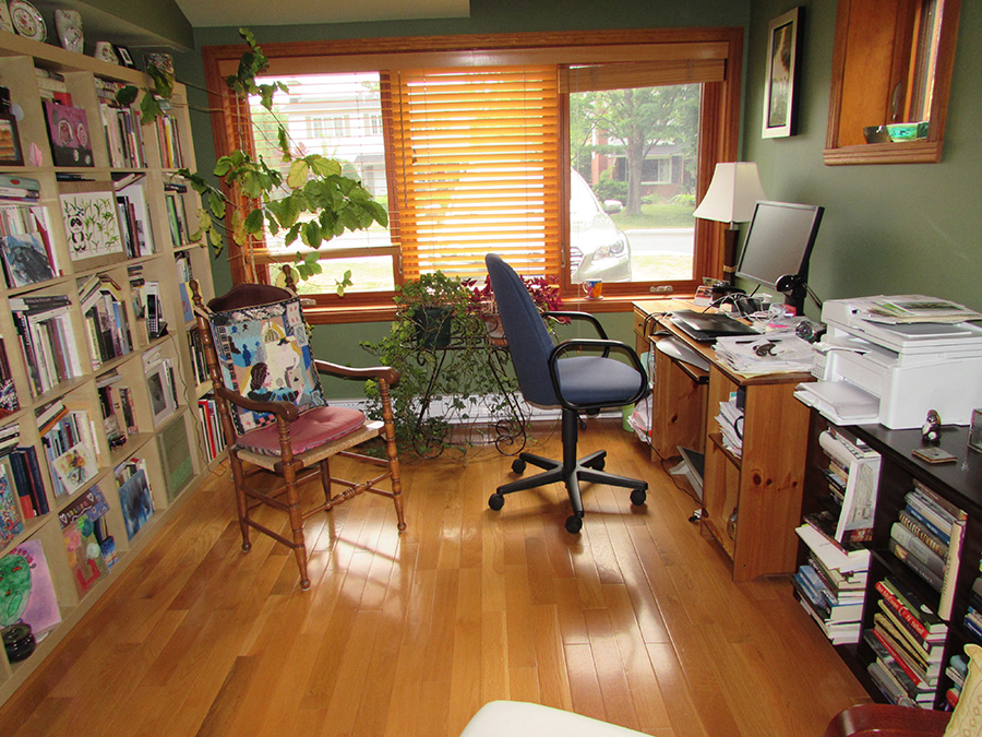 Stephanie Bolster Writing Space: Large Office Window