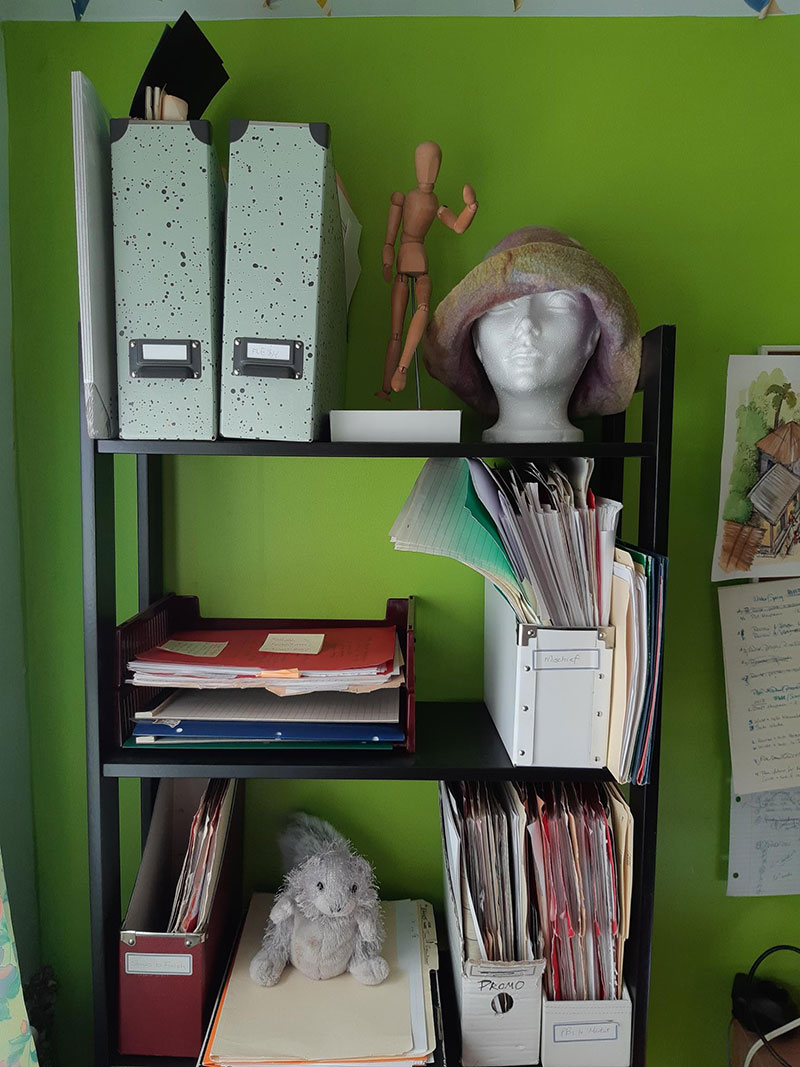 Catherine Austen Writing Space
