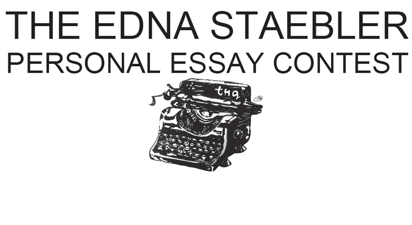 edna staebler essay contest