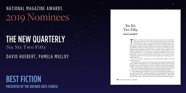 The New Quarterly Nominated for Five Literary Awards - The